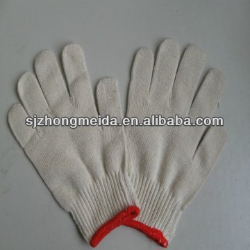 Working Safety Labor Knitted Cotton Gloves