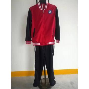 Custom Winter Grey Sport Wear School Tracksuit