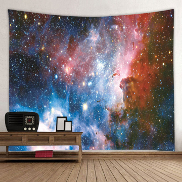 Starry Tapestry Galaxy Tapestry Night Sky Wall Hanging Universe Dreamy 3D Printing Tapestry for Living Room Bedroom Home Dorm De