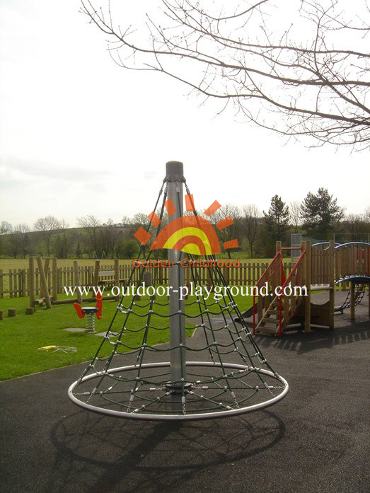 activity climbing net playground equipment