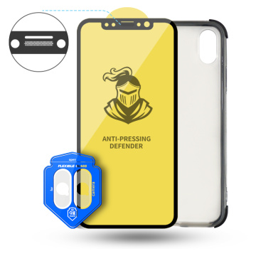 iPhone XS Max dust proof netscreen protector