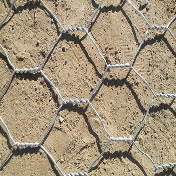 galvanised hexagonal chicken mesh