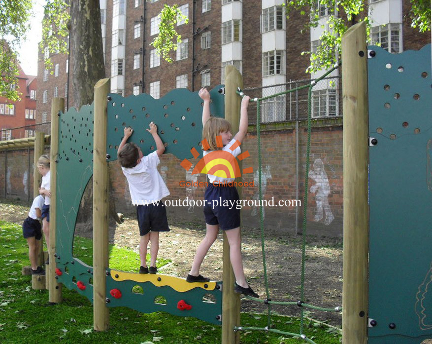panel climber outdoor playground for school