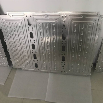 Aluminum heat collection plate for solar panel