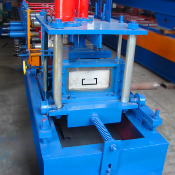 One year warranty metal galvanized steel cz purlin molding machine