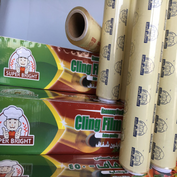 Vegetable Fruit Food Use PVC Cling Film Wrap