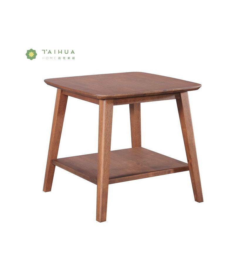 Solid Wood Side Coeeff Table
