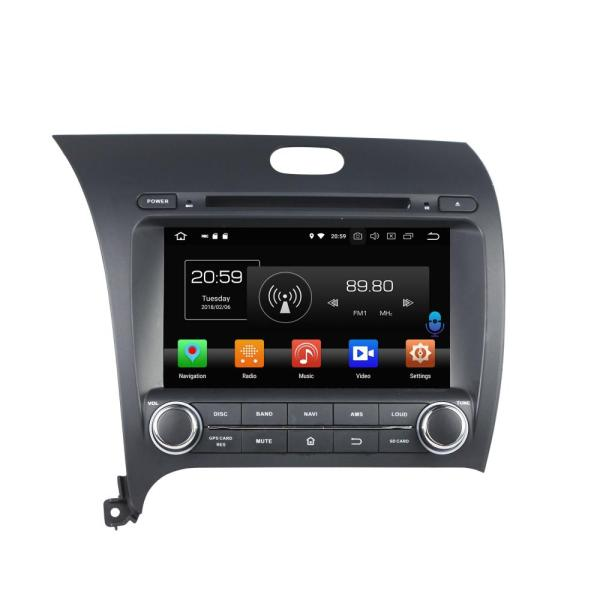 Android 8.0 car dvd for CERATO/K3/FORTE  2013