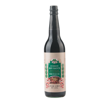 625ml Glass Bottle Mushroom Dark Soy Sauce