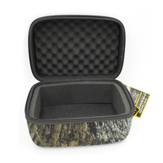 Manufacturer equipment hard zipper camouflage eva case for fishing gear
