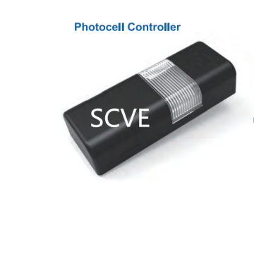 Black Intelligent  Photocell Controller