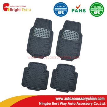 New! Shiny Metallic Pad Auto Floor Mats
