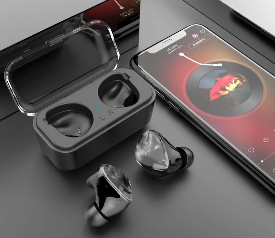 TWS Bluetooth in-Ear Earbuds