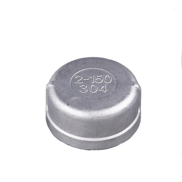 304  Pipe Fittings Threaded  End Cap
