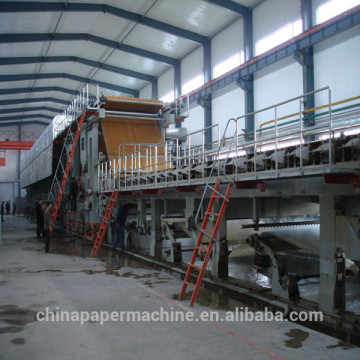 Corrugated paper machine fluting paper making machinery