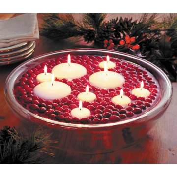 White Paraffin Wax Ball Candle