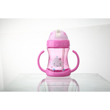 Baby Sippy Cup Water Drinking Kettle Bottle S