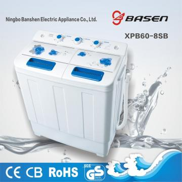 XPB60-8SB Semi Automatic 6KG Twin Tub Washing Machine