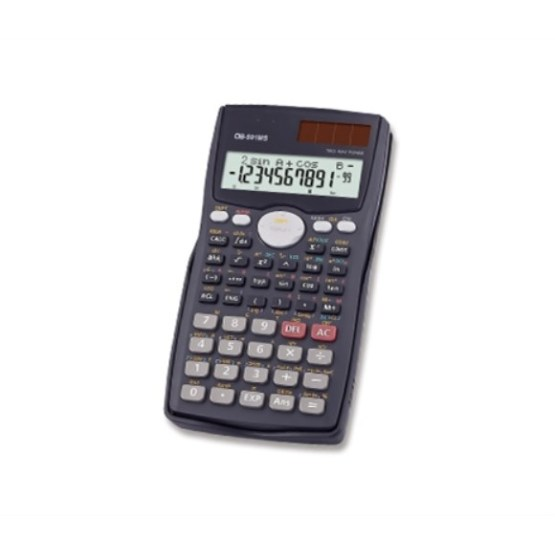 complete Scientific Calculator Dual Power 2Line
