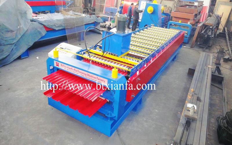 galvanized metal sheet machine