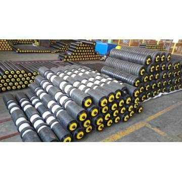 Rubber Disc Return Idler Roller for Belt Converyor