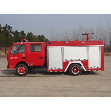 2019 New Dongfeng Double Cabin 2500litres Fire Truck