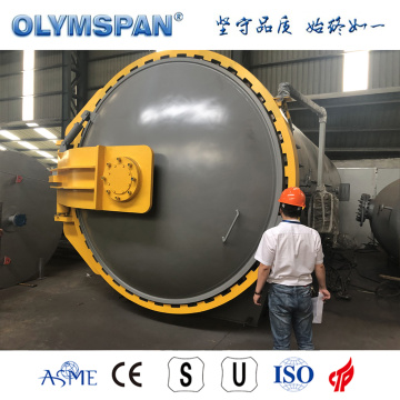ASME standard fiber glass part bonding autoclave