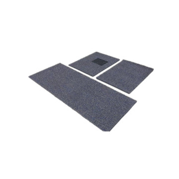 Nonslip coil car carpet double colors nail back