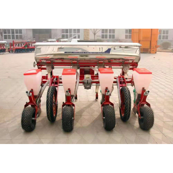 4 rows air-suction precision crop seed planter