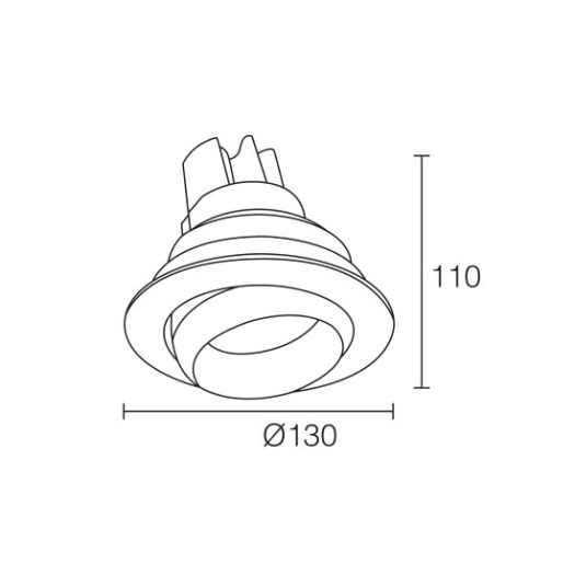 Dimmable High Quality 25W LED Downlight