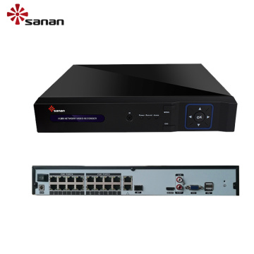16 Channel POE H.265 NVR