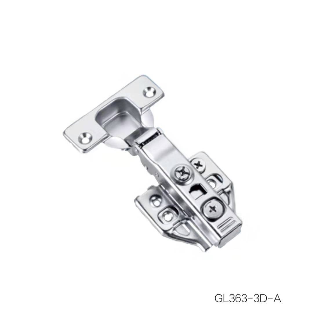 Clip-on 3D Hydraulic Hinge