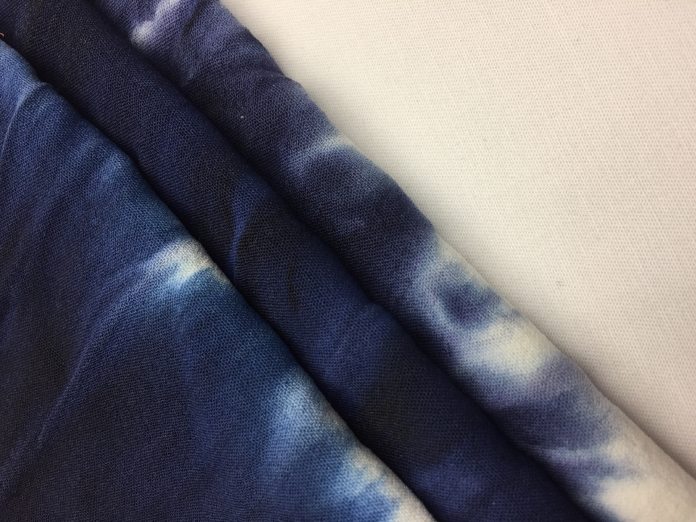 Tie Dye Effect Print Fabric