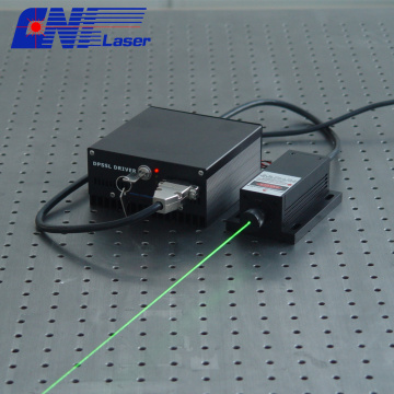 100mw 543nm solid green laser with easy operating