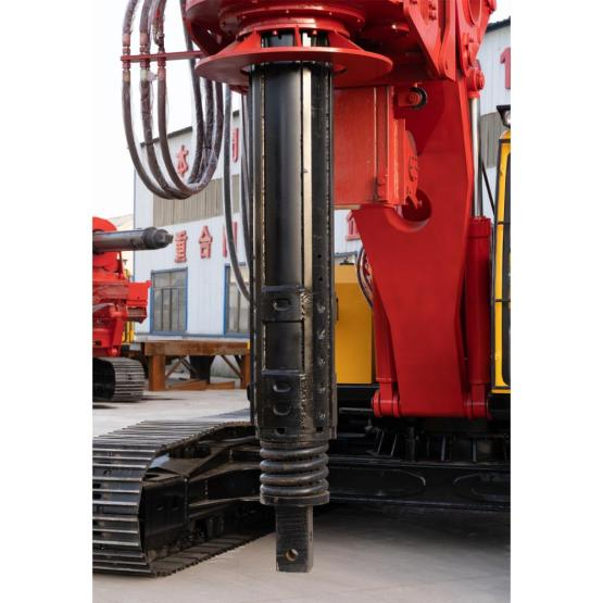Dingli manufactures high quality spiral drilling rigs