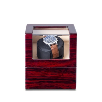 Auto Rose Wood Watch Winder Box