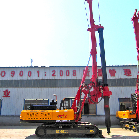 Large Caliber Diesel Bore Pile Drilling Rig