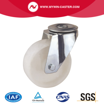 Bolt Hole Swivel PP Industrial Caster