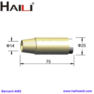 4492 Brass Tapered Nozzle 9/16
