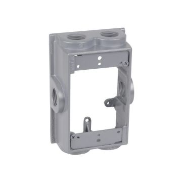 Aluminum Die Casting Electrical Box Cover
