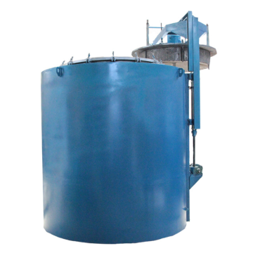 Aluminum alloy quenching well furnace
