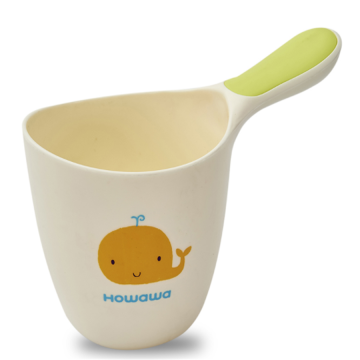 H8353 Cute Baby Bath Spoon Rinse Cup