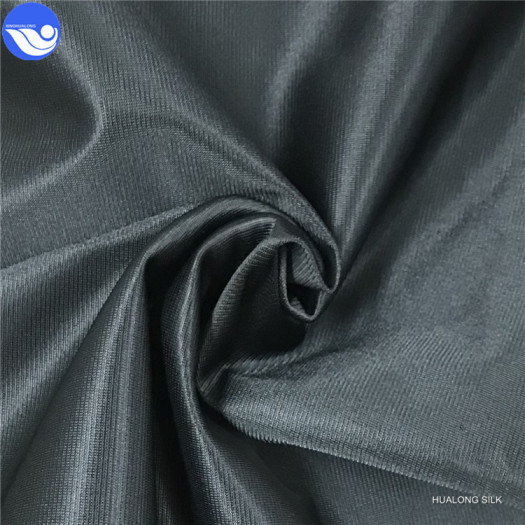 Super poly brushed knit fabric for garments