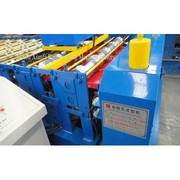 Roof corrugated and trapezoid roll forming machine