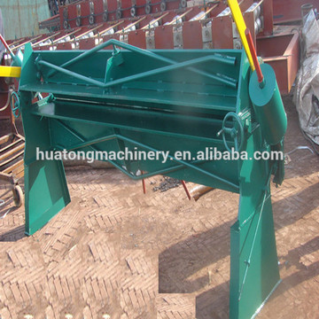 2.5m Simple manual sheet metal bending machine