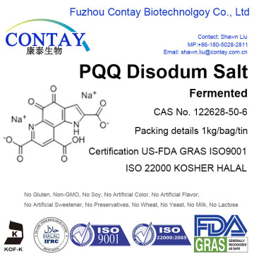 Contay Stable Quality PQQ Disodium Salt CAS 122628-50-6