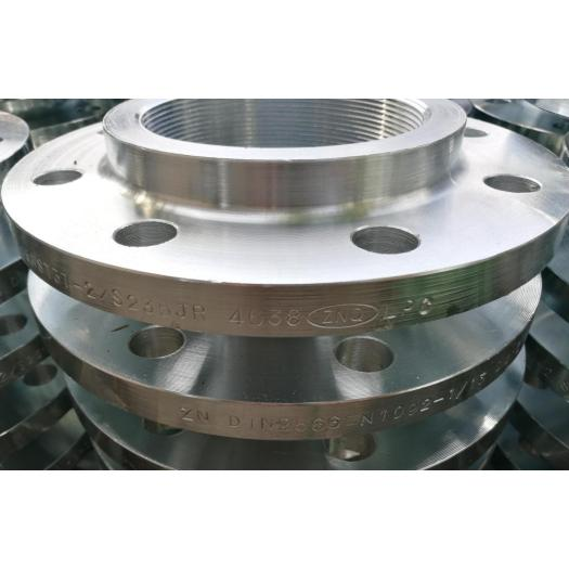 DIN 2566 Threaded flange with neck