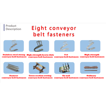 Eight hot-selling conveyor belt fasteners