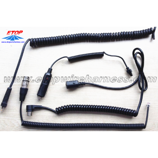 Flexible Coiling Cable Wire Assembly