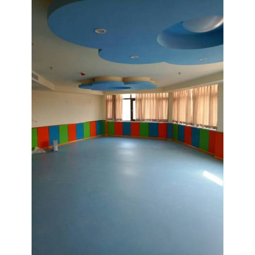 Safety Colorful PVC Flooring for kids room